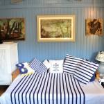 salon de la cabane de Lautrec location à Claouey