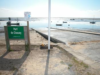 cale à bateaux de Claouey